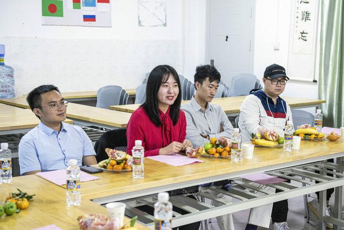 校友代表,国际教育学院校友会分会副会长李雪发言.JPG